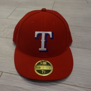 Texas Rangers fitted hat